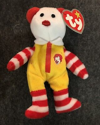 f3624b63e1b Ty Ronald McDonald Beanie Baby Bear 2004 CONVENTION EXCLUSIVE -New With Tags !-