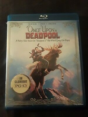 Deadpool 2 - Once Upon A Deadpool (Blu-ray/DVD)EXCELLENT, NO DIGITAL, FREE SHIP