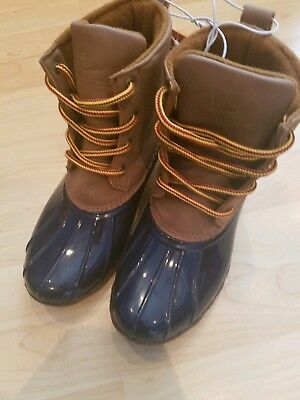 3a1a3e53ac0 FIELD & AND Stream Duck Boots youth unisex boys girl Snow Shoes Rain 5  Merrimack