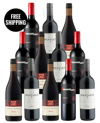 Merlot Lovers Dozen (12 Bottles)