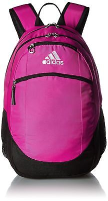 d863f80fc8 adidas Unisex Striker II Team Backpack Shock Pink Black White One Size New