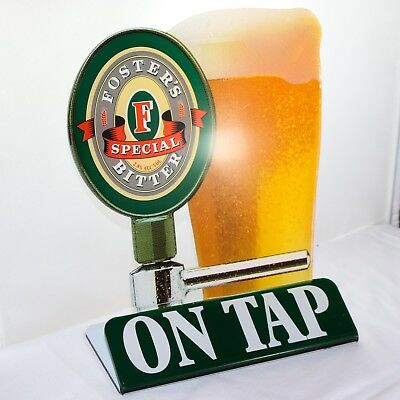 Old Fosters Special Bitter Bar Top Perspex Display Sign