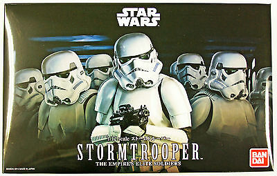 Bandai Star Wars Stormtrooper (The Empires Elite Soldaten) 1/12 Maß Set 943798