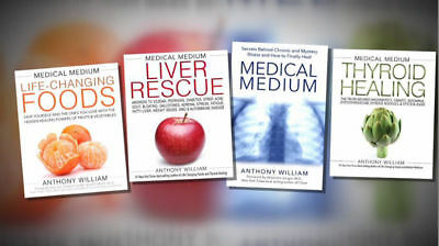 Medical Medium,Life Changing Foods,Thyroid Healing,Liver Rescue by A.Willian