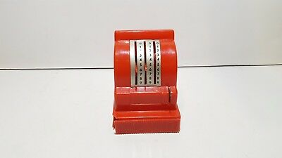 Vintage plastic toy Geobra Cash Register West Germany w. opening drawer and bell