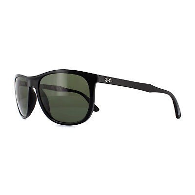 5b415773533 RAY-BAN SUNGLASSES 3538 187 9A Black   Gold Green Polarized - EUR ...