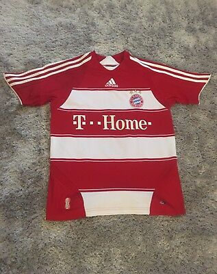 FC Bayern Munich Munchen 2007-2008 Adidas Home Shirt Adults Size XS