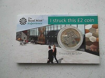 "2019 Britannia £2 Two Pound Coin ""i Struck This Coin""pack"