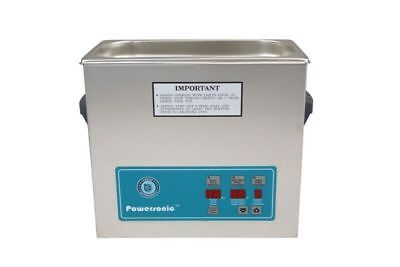 Crest Powersonic P500 Ultrasonic Cleaner 1.5 Gallon Timer & Heat H/T/PC & Basket