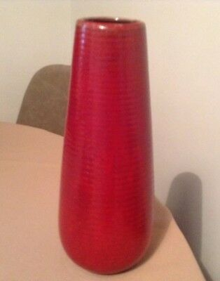 Red Pottery Vase