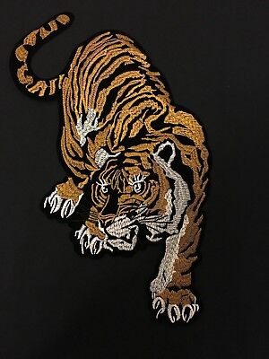 Sew on & iron on embroidery patches(Big Tiger)