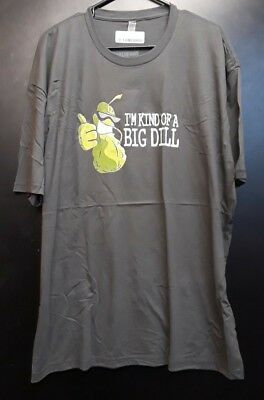 8652d5011 MENS DILL DOE Tshirt Funny Pickle Deer Tee For Guys - $11.99 | PicClick