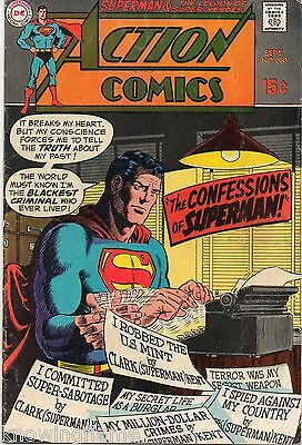 Action Comics #380 Superman Silver Age DC VG/F 1969
