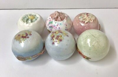 Bath Bombs Mixed Bargain Job Lot Scented Duck Stars Confetti Fizzing 160gr New
