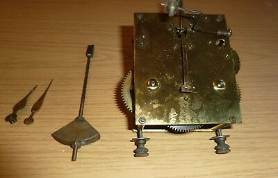 Junghans striking mantel clock movement c1900 for spares