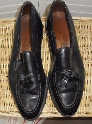 c43f8f12547 ALLEN EDMONDS GEORGETOWN Black Leather Penny Loafers Dress Shoes ...