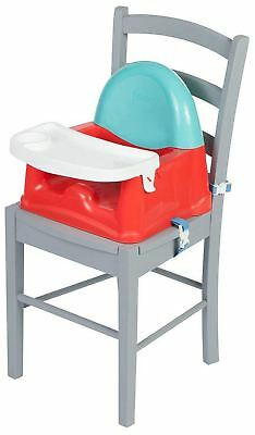 Safety 1St EASY CARE SWING TRAY BOOSTER - RED LINES Baby Child Feeding - NEW