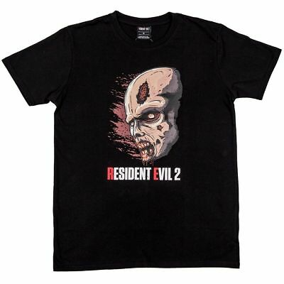 Official Resident Evil 2 Zombie T-Shirt - New & Sealed