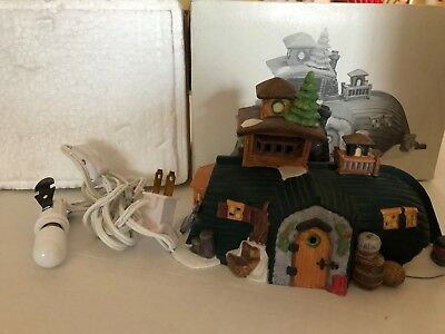 Department 56 Dickens Village PEGGOTTY'S SEASIDE COTTAGE Lighted House 55506