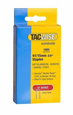 91 Series Heavy Duty Staples 15mm to 45mm 1000 Staples in Each Box