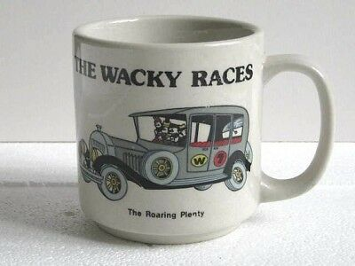 "The Wacky Races : Ant Hill Mob ""the Roaring Plenty"" Mug.  Nice Old Condition.."