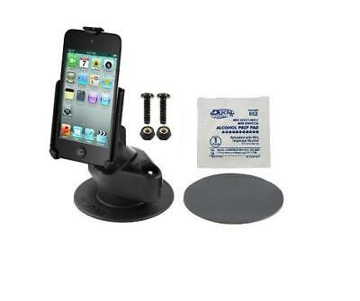 New Rugged Adhesive Dashboard Mount Holder For Apple Ipod Touch 4Th Generation