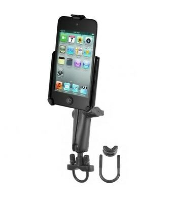 Long Arm Motorcycle Bike Mount Holder Kit fits Apple iPod touch 4th Generation