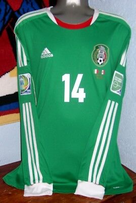 a979e30884c Adidas Mexico Confederations Ls 2013 Chicharito Xl Original Soccer Jersey  Shirt