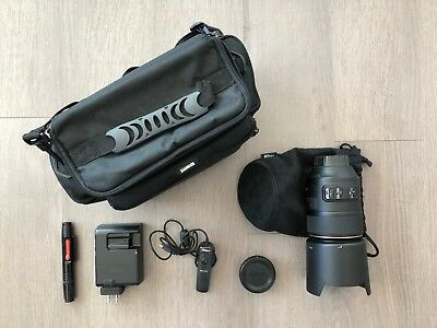 Nikon AF-S VR 105mm Macro f/2.8G IF-ED & Additional Accessories