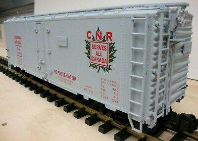 Aristocraft Canadian National Steel Reefer Car Boxcar CART 46277A G Scale 211680