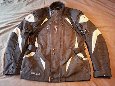 Richa textile motorcycle jacket size large 42-44 chest