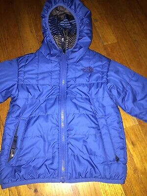 758a2eba4 THE NORTH FACE Toddler Boys Reversible Perrito Jacket Red Check ...
