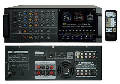 Martin Ranger MA-3800HD Mixing Amplifier with HDMI in out