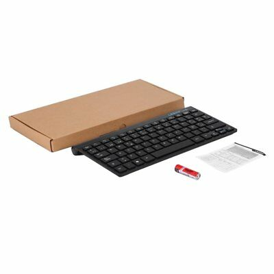 LESHP Portable Wireless Bluetooth 3.0 Keyboard Built in Rechargeable Battery QF