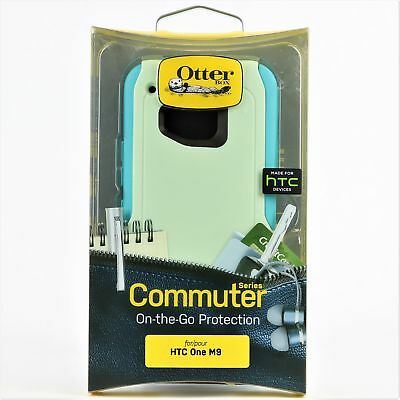 New OtterBox Commuter Series Case Cover for HTC One M9 Cool Melon
