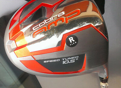 NEW RH Cobra AMP Offset 10.5° Driver 50g Graphite Regular Flex R