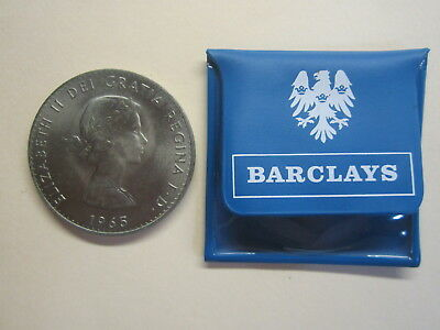 Great Britain Crown 5 Shillings 1965 Churchill Uncirculated in Barclay Pouch