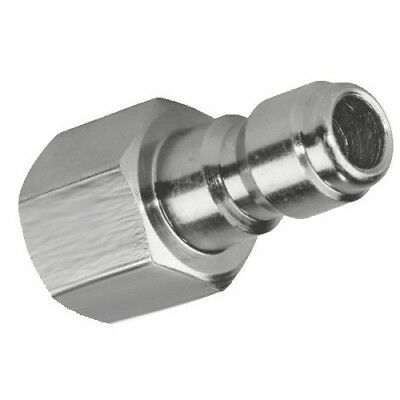 Stainless Steel 1/2 NPT Size Female Quick Connect Nipple Plug Coupler Connection