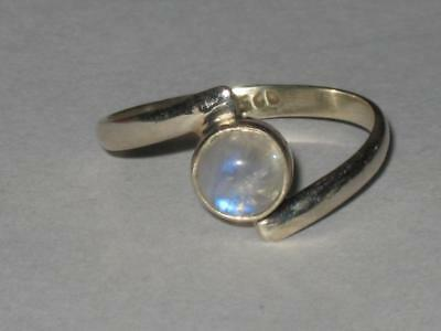 Moonstone Ring 925 8.5 Witch Estate FRESH START NEW BEGINNING GOOD THINGS COMING