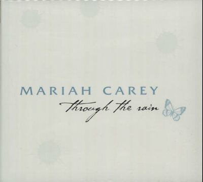 "Through The Rain - 1-track Mariah Carey UK CD single (CD5 / 5"") promo MARIAH1"