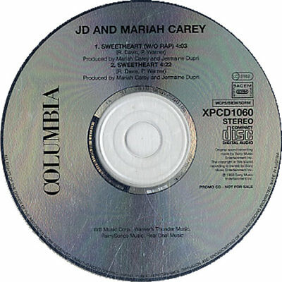 "Mariah Carey Sweetheart - 2-track CD single (CD5 / 5"") UK promo XPCD1060"