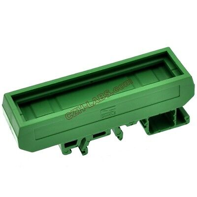 DIN Rail Mounting Carrier, for 72mm x 20mm PCB, Housing, Bracket. x1