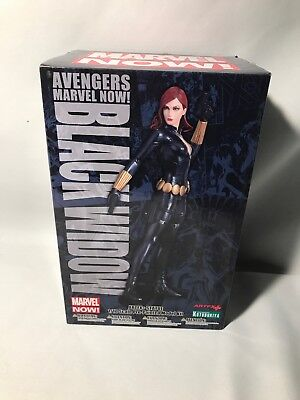 Kotobukiya Artfx Marvel Now Avengers Black Widow Model Kit Statue 1/10 Scale