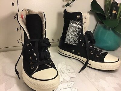 b11ad9545d3b1e Converse Chuck Taylor all star High-Rise Boot Women sz 6.5 black 549593C   n26
