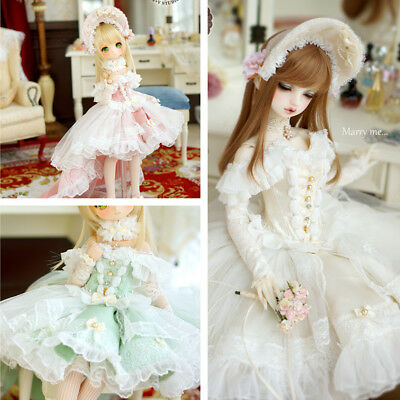 【Tii】Alice 2 colors outfit BJD 1//4 1//3 MSD SD10//13 DD GR DZ Doll Clothes dress