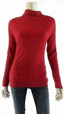 eda70c1e1e3 INC Womens Petite size PXL Stretch Pull Over Turtleneck Knit Sweater Ribbed  Top