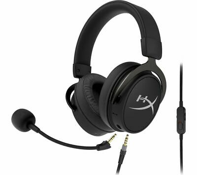 HYPERX Cloud MIX Wireless Gaming Headset - Black & Silver - Currys