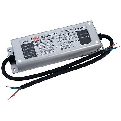 Mean Well ELG-100-24A Constant Voltage & Constant Current LED PSU 24V 4A 96W