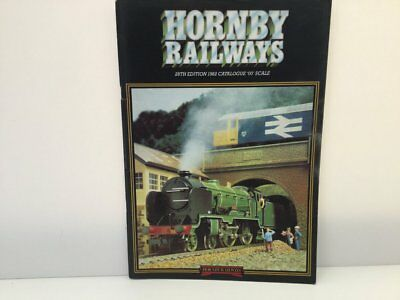Hornby 1982 Catalogue 28th Edition