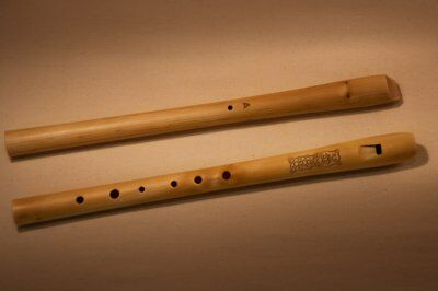 Wooden recorder in A key ( pipe,svirel, block flute, whistle) - TUNED!
